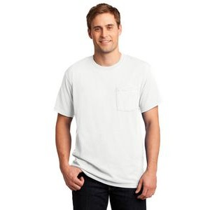 JERZEES� Men's Dri-Power� 50/50 Cotton/Poly Pocket T-Shirt